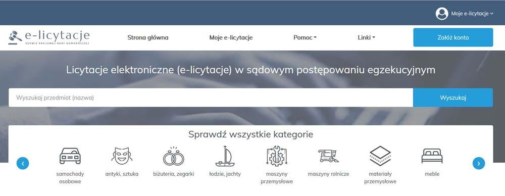 e-licytacje komornicze